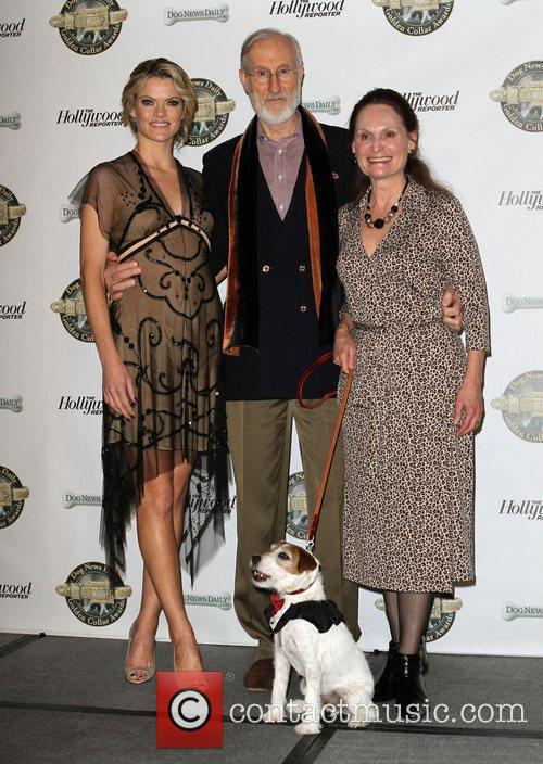 Missi Pyle, James Cromwell, Beth Grant and Uggie...