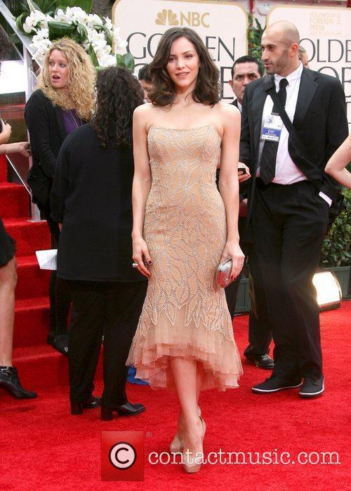 Katharine Mcphee, Golden Globe Awards and Beverly Hilton Hotel 1