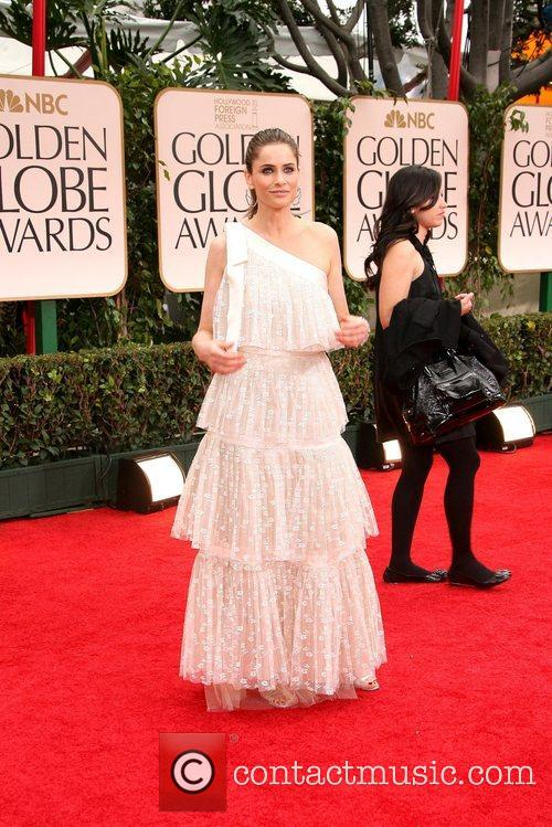 Amanda Peet, Golden Globe Awards and Beverly Hilton Hotel 2