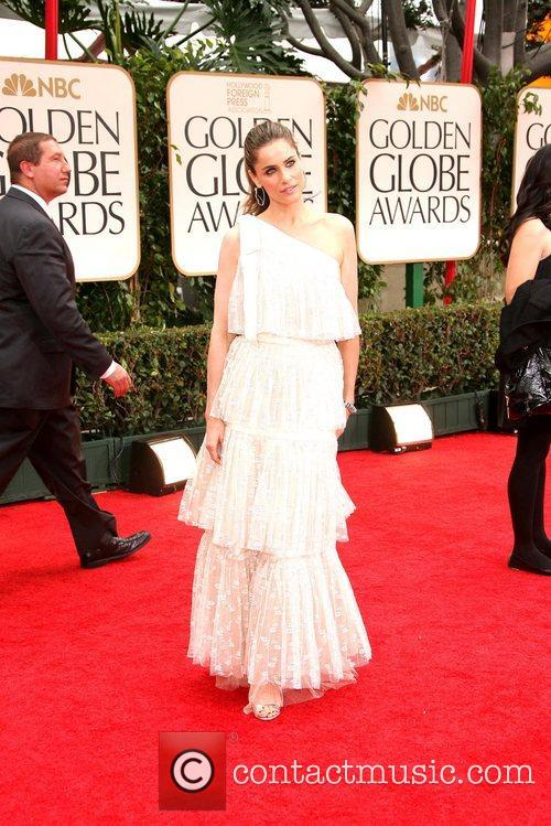 Amanda Peet, Golden Globe Awards and Beverly Hilton Hotel 4