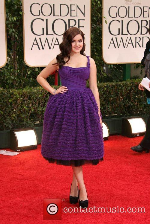 Ariel Winter, Golden Globe Awards and Beverly Hilton Hotel 3