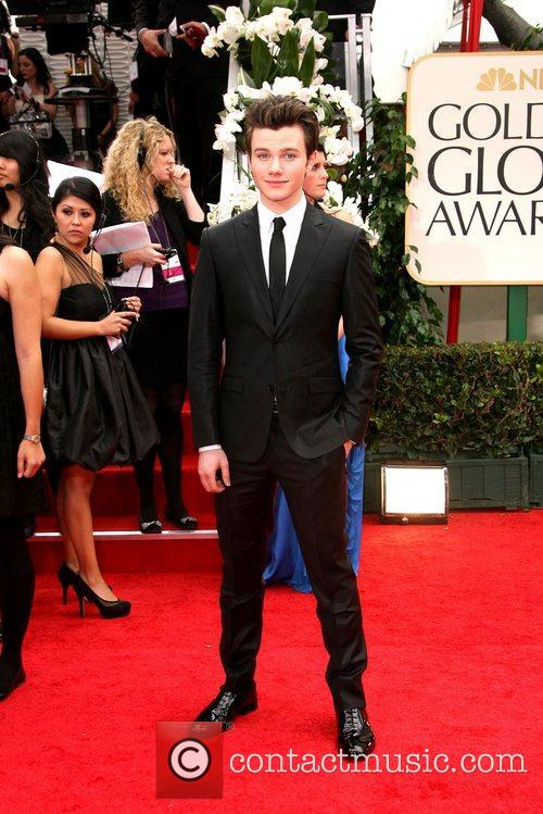 Chris Colfer, Golden Globe Awards and Beverly Hilton Hotel 2