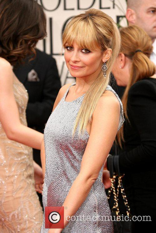 Nicole Richie, Golden Globe Awards and Beverly Hilton Hotel 2
