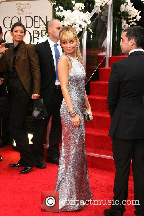Nicole Richie, Golden Globe Awards and Beverly Hilton Hotel 4