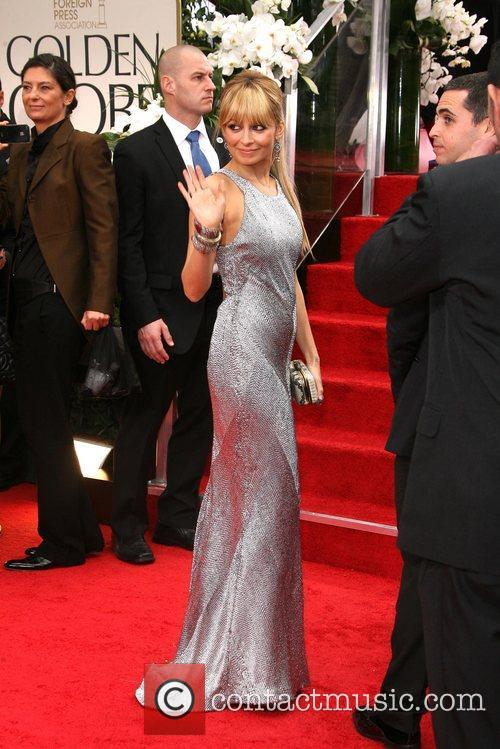 Nicole Richie, Golden Globe Awards and Beverly Hilton Hotel 5