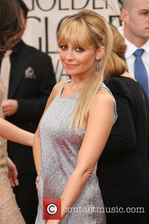 Nicole Richie, Golden Globe Awards and Beverly Hilton Hotel 1