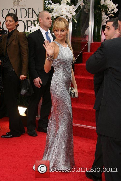 Nicole Richie, Golden Globe Awards and Beverly Hilton Hotel 6