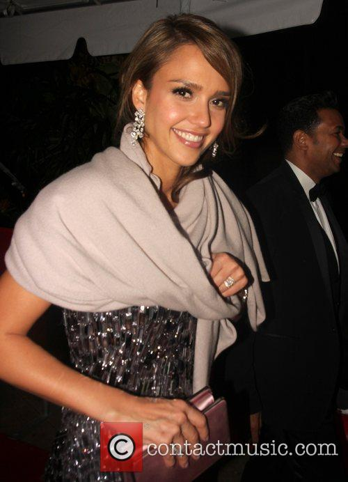 Jessica Alba, Golden Globe Awards and Beverly Hilton Hotel 2