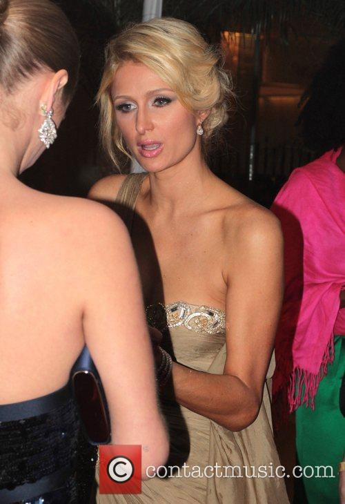 Paris Hilton, Nicky Hilton, Golden Globe Awards and Beverly Hilton Hotel 2