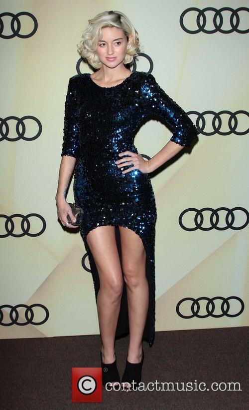 Caroline D'Amore Audi Golden Globe 2013 Kick Off...
