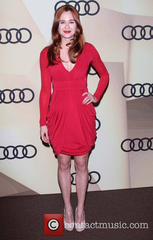 Claire Thomas Audi Golden Globe 2013 Kick Off...