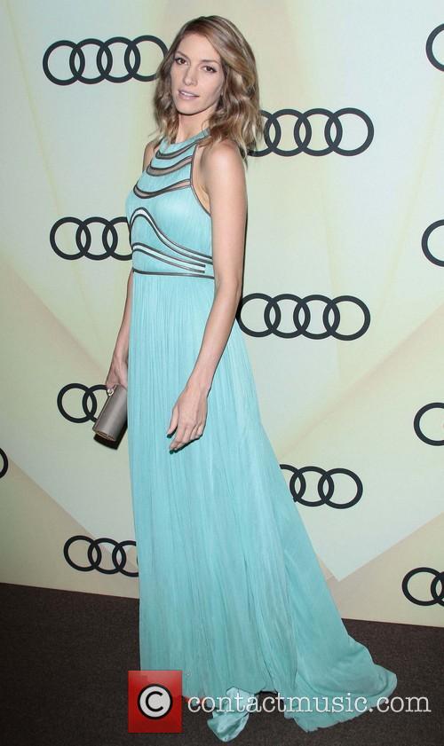 Dawn Olivieri Audi Golden Globe 2013 Kick Off...