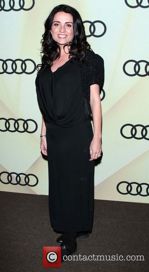 Jenni Pulos Audi Golden Globe 2013 Kick Off...