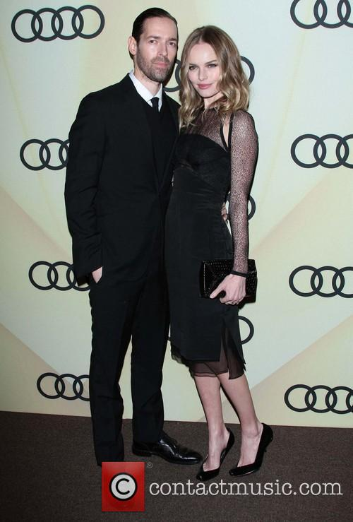 Michael Polish And Kate Bosworth Audi Golden Globe...