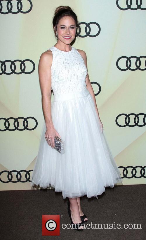 Nikki DeLoach Audi Golden Globe 2013 Kick Off...