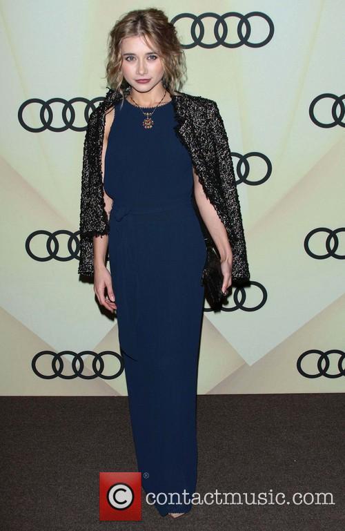 Olesya Rulin Audi Golden Globe 2013 Kick Off...