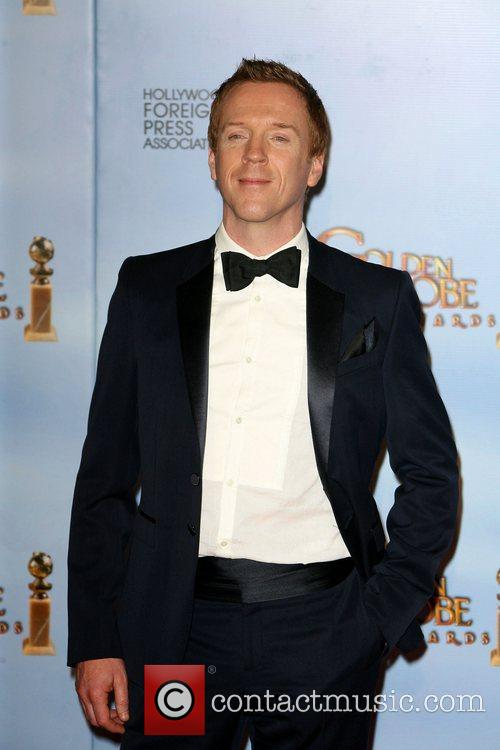 Damian Lewis, Golden Globe Awards and Beverly Hilton Hotel 2