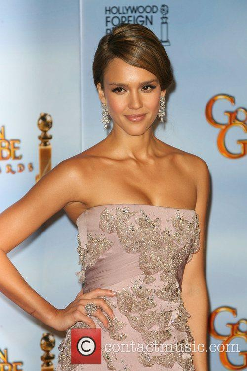 Jessica Alba, Golden Globe Awards and Beverly Hilton Hotel 6