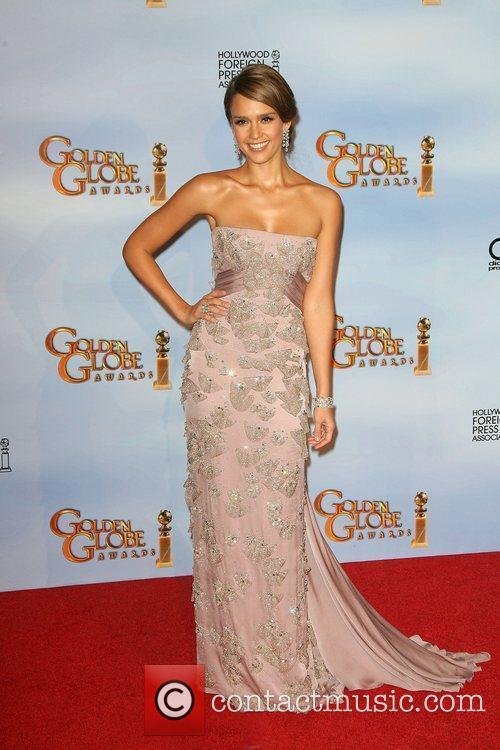 Jessica Alba, Golden Globe Awards and Beverly Hilton Hotel 7