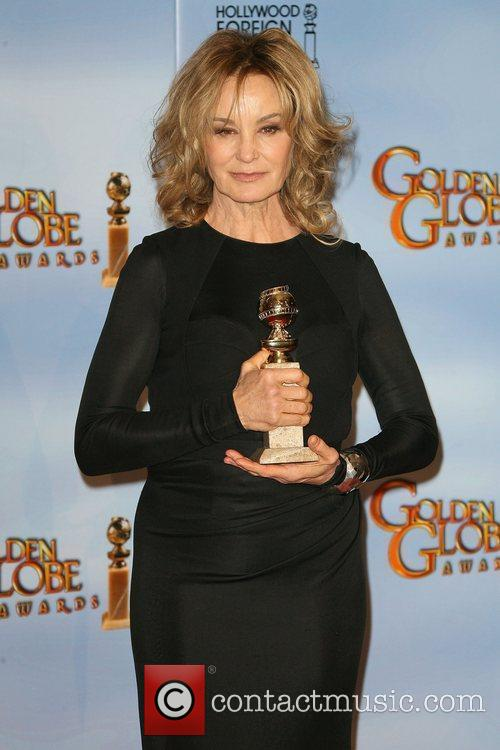 Jessica Lange, Golden Globe Awards and Beverly Hilton Hotel 1