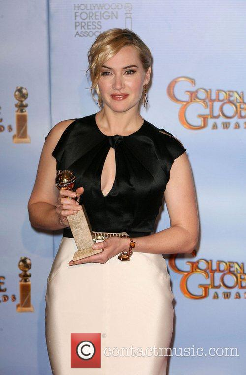 Kate Winslet, Golden Globe Awards and Beverly Hilton Hotel 3