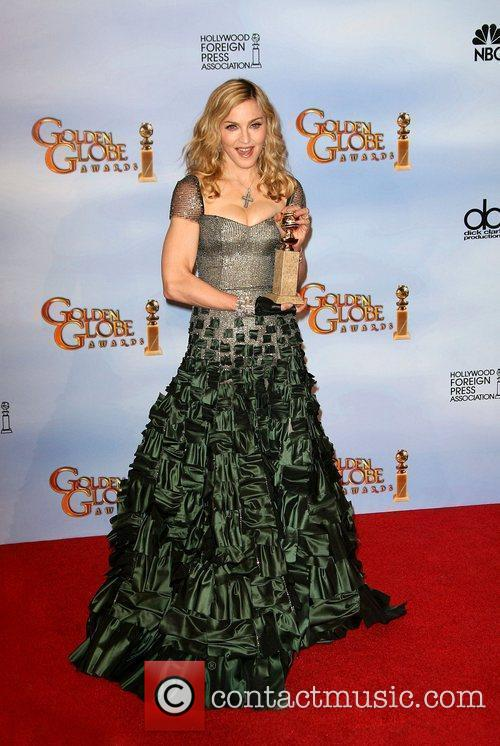 Madonna, Golden Globe Awards and Beverly Hilton Hotel 1