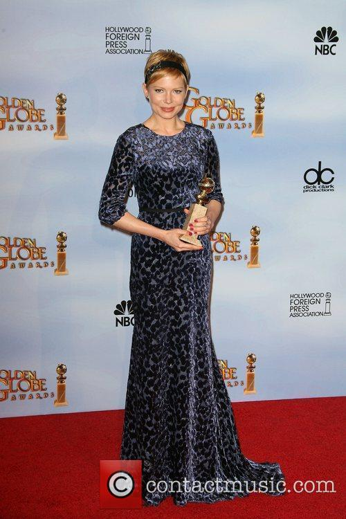 Michelle Williams, Golden Globe Awards and Beverly Hilton Hotel 8
