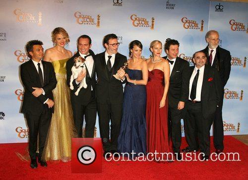 Missi Pyle, Berenice Bejo, Jean Dujardin, Ken Davitian, Golden Globe Awards and Beverly Hilton Hotel 1