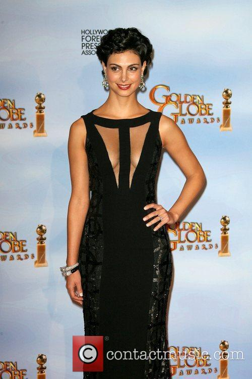 Morena Baccarin, Golden Globe Awards and Beverly Hilton Hotel 4