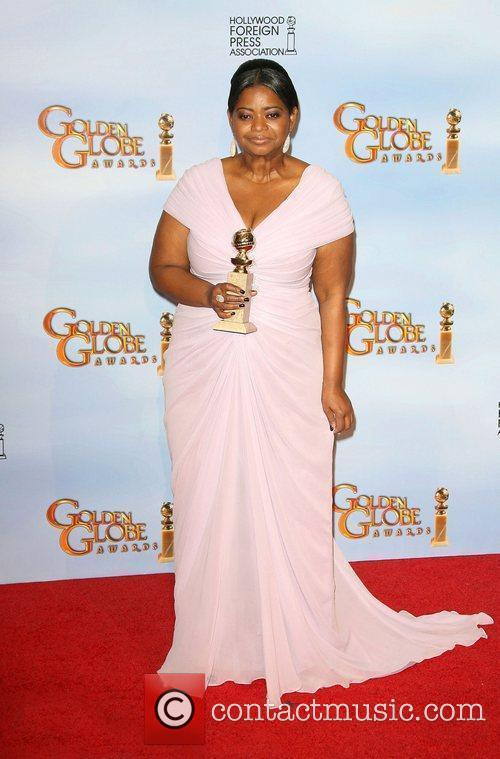 Octavia Spencer, Golden Globe Awards and Beverly Hilton Hotel 1