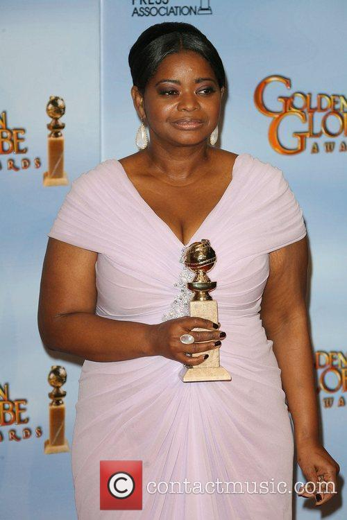 Octavia Spencer, Golden Globe Awards and Beverly Hilton Hotel 7
