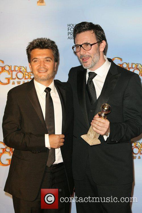 Thomas Langmann and Michel Hazanavicius The 69th Annual...