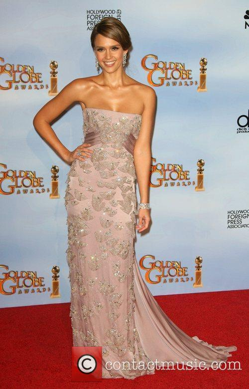 Jessica Alba, Golden Globe Awards and Beverly Hilton Hotel 3