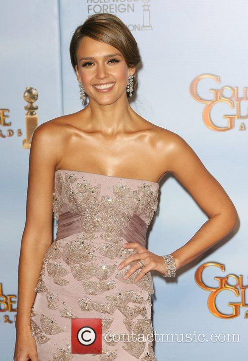 Jessica Alba, Golden Globe Awards and Beverly Hilton Hotel 5