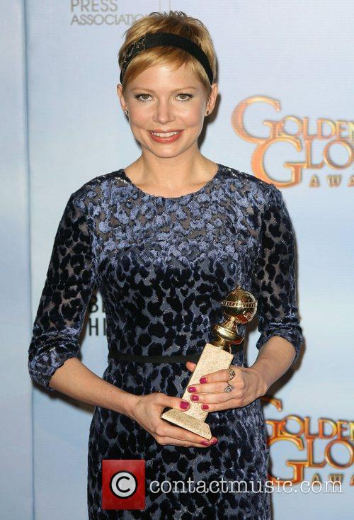 Michelle Williams, Golden Globe Awards and Beverly Hilton Hotel 3