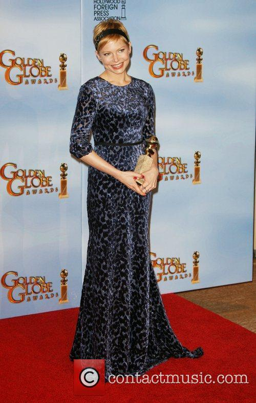 Michelle Williams, Golden Globe Awards and Beverly Hilton Hotel 1