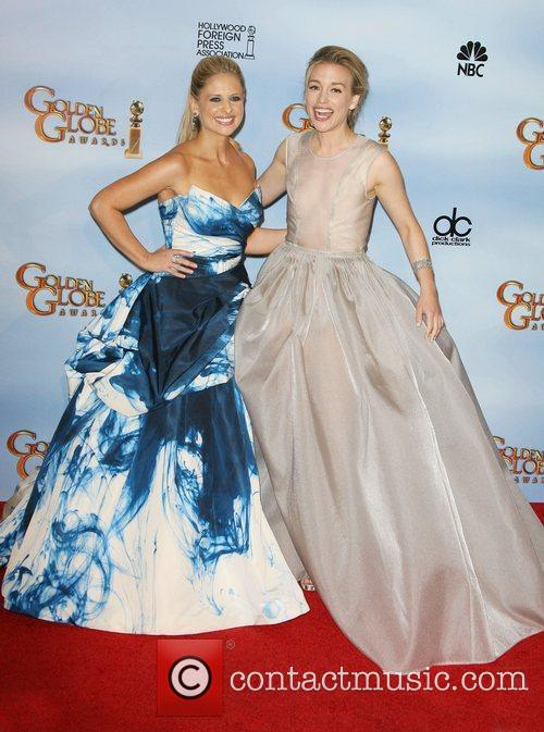 Sarah Michelle Gellar, Piper Perabo, Golden Globe Awards and Beverly Hilton Hotel 3