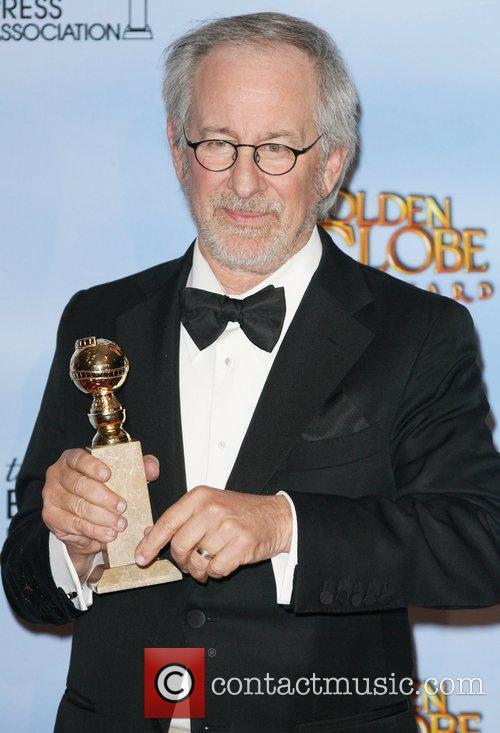 Steven Spielberg, Golden Globe Awards and Beverly Hilton Hotel 2