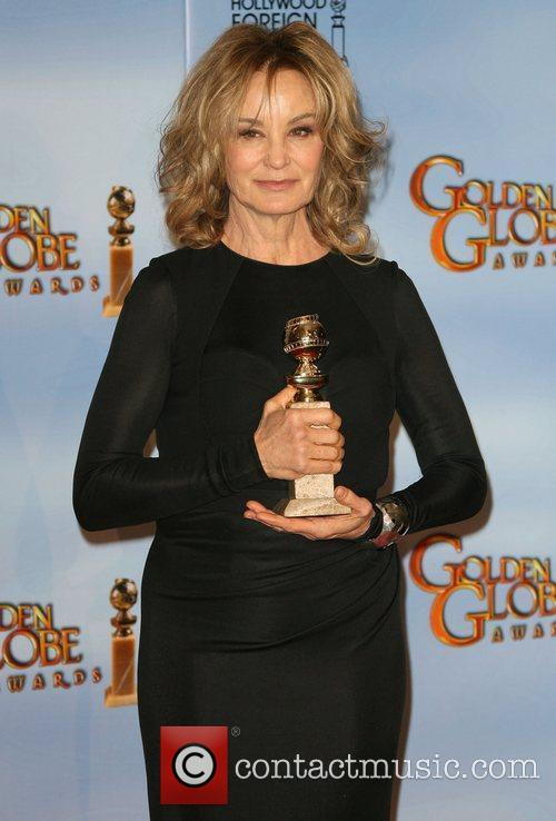 Jessica Lange, Golden Globe Awards and Beverly Hilton Hotel 2
