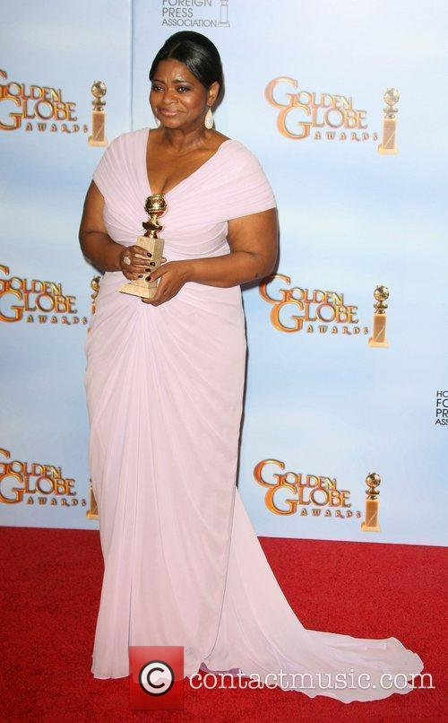 Octavia Spencer, Golden Globe Awards and Beverly Hilton Hotel 3