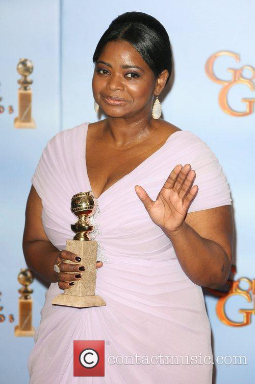 Octavia Spencer, Golden Globe Awards and Beverly Hilton Hotel 4