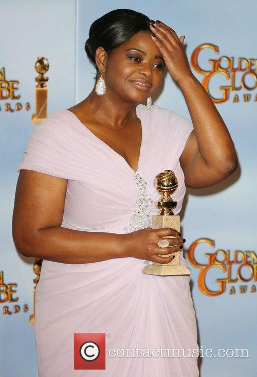 Octavia Spencer, Golden Globe Awards and Beverly Hilton Hotel 5