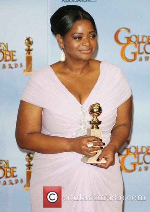 Octavia Spencer, Golden Globe Awards and Beverly Hilton Hotel 6
