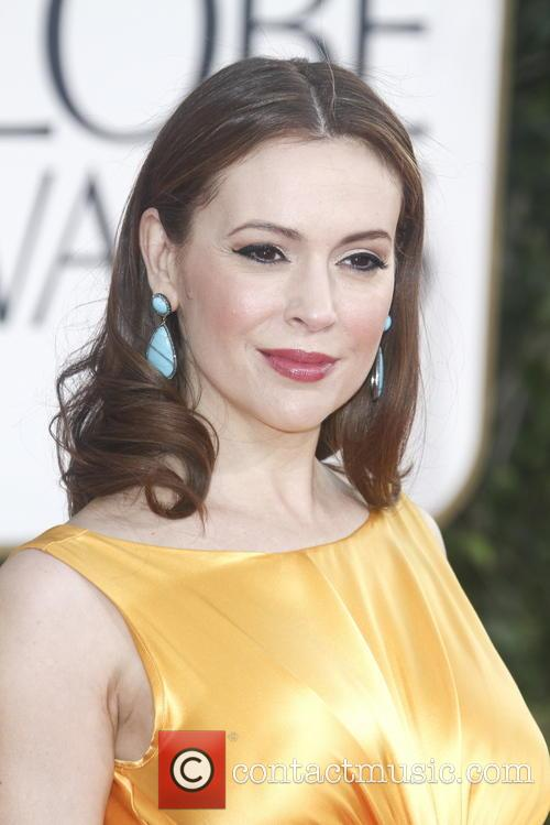 Alyssa Milano and Beverly Hilton Hotel 4