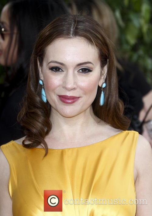Alyssa Milano and Beverly Hilton Hotel 3