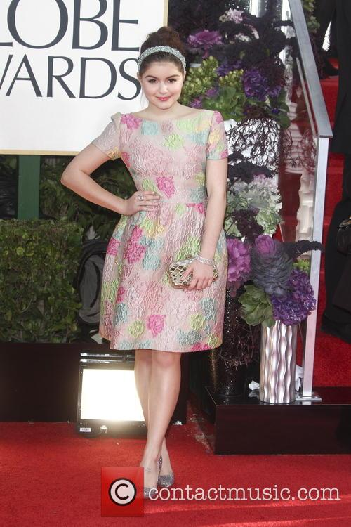 Ariel Winter, Beverly Hilton Hotel and Golden Globe Awards 1