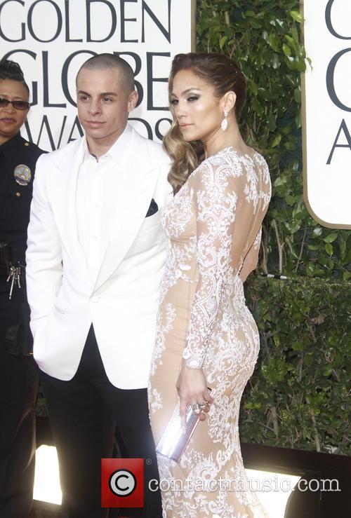 Casper Smart, Jennifer Lopez and Beverly Hilton Hotel 1