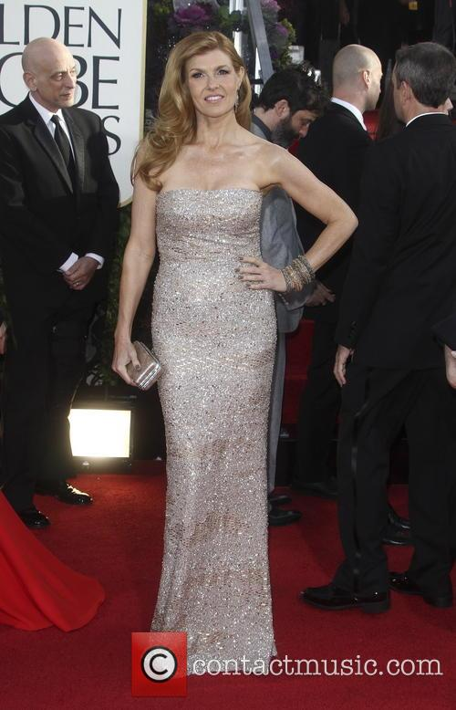 Connie Britton and Beverly Hilton Hotel 10