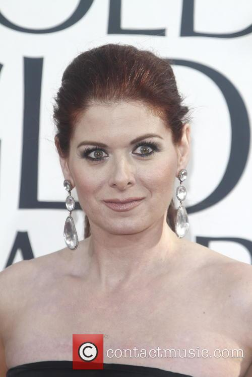 Debra Messing and Beverly Hilton Hotel 1