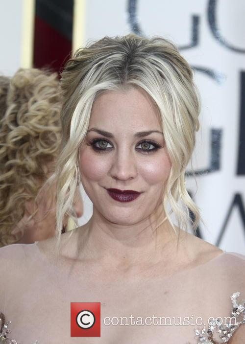 Kaley Cuoco and Beverly Hilton Hotel 1